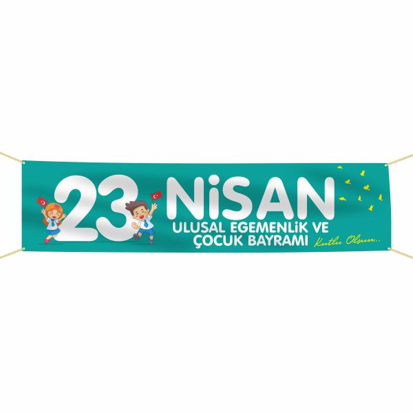 23 Nisan Çocuk Bayramı Pankartı