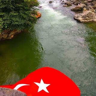 Artvin Manzaralı Türk Bayrağı Resimleri