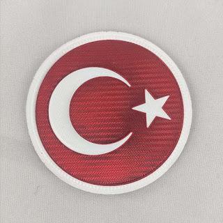 Türk Bayrağı Yuvarlak Resimleri