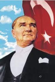 Atatürk Portresi raşel kumaş üzerine dijital baskılı genel