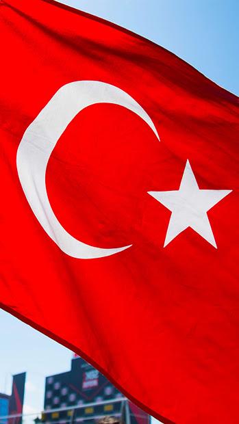 Telefonlar ile Uyumlu Türk Bayrağı Duvar Kağıtları